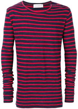 Faith Connexion striped sweatshirt
