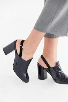 Urban Outfitters Tilda Faux Croc Mule Heel