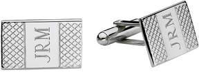 Asstd National Brand Personalized Grid Pattern Cuff Links