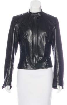 Christian Dior Embellished Leather Jacket
