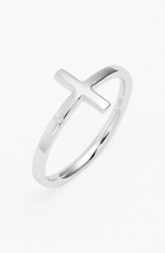 Bony Levy Women's 14K Gold Cross Ring (Nordstrom Exclusive)
