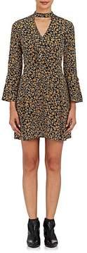 Derek Lam 10 Crosby Women's Floral Silk Bell Sleeve Dress