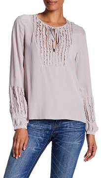 Go Silk go > by GoSilk Pleated Pullover Silk Tunic