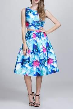 Ark & Co Floral Midi Skirt