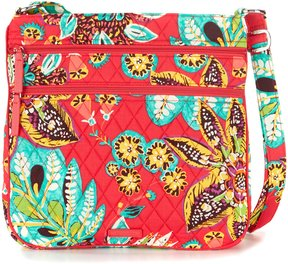Vera Bradley Triple Zip Hipster Cross-Body Bag - RUMBA - STYLE