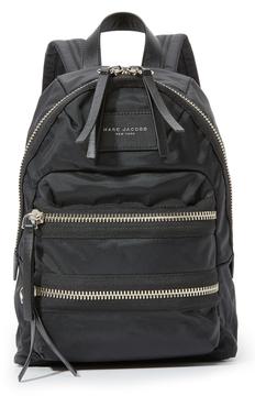 Marc Jacobs Mini Nylon Biker Backpack - BLACK - STYLE
