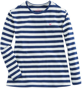 Vineyard Vines Girls Long-Sleeve Stripe Knit Top