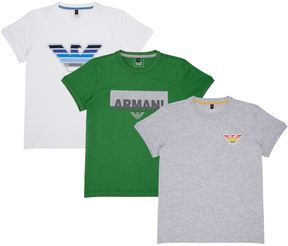 Armani Junior Logo T-Shirts
