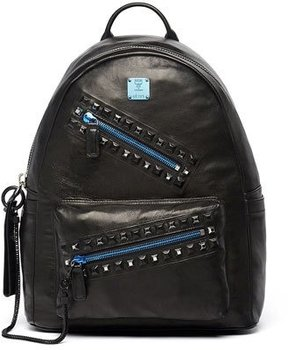 MCM Rebel Tumbler Medium Backpack, Black