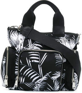 Sonia Rykiel palm print north-south tote