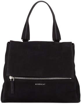 Givenchy Pandora Pure Medium Suede Satchel Bag