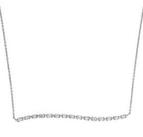Bony Levy Women's Wavy Bar Diamond Pendant Necklace (Nordstrom Exclusive)