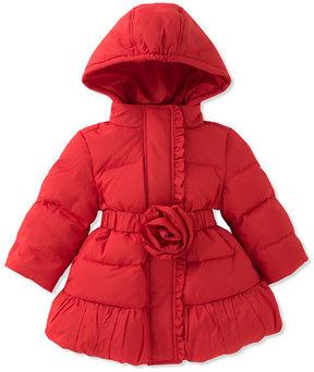 Kate Spade Rosette Puffer Coat, Size 12-24 Months