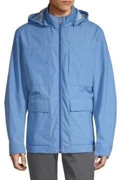 Paul & Shark Full-Zip Hooded Jacket
