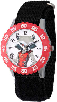 Marvel Guardian Of The Galaxy Boys Black Strap Watch-Wma000135