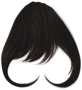 Hairdo. by Jessica Simpson & Ken Paves Midnight Brown Hair Extension Bangs
