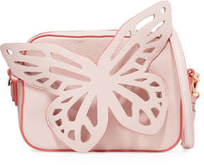 Sophia Webster Flossy Butterfly Crossbody Camera Bag, Sunkissed Pink
