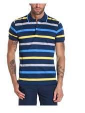 Paul & Shark Men's Multicolor Cotton Polo Shirt.