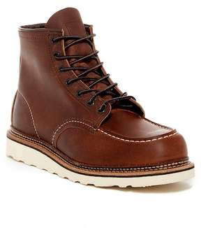 Red Wing Shoes Moc Lace-Up Leather Boot - Factory Second