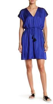 Collective Concepts V-Neck Tassel Dress
