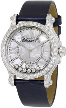 Chopard Happy Sport Mother of Pearl Guilloche Dial Ladies Watch