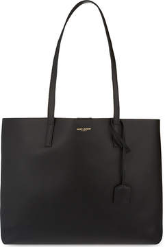 Saint Laurent Large leather tote - BLACK - STYLE