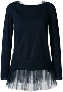 P.A.R.O.S.H. ruffle trim sweater