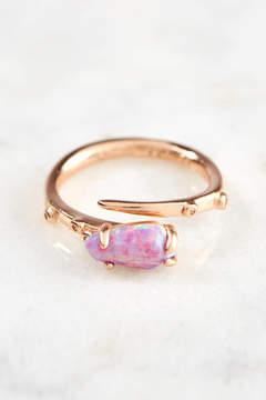 Kendra Scott Juila Lavender Opal Ring Size