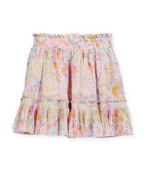 Stella McCartney Twinkle Watercolor Skirt, Size 4-14