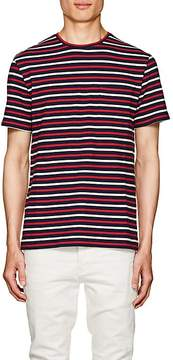 N. Max 'n Chester MAX 'N CHESTER MEN'S STRIPED COTTON JERSEY T-SHIRT