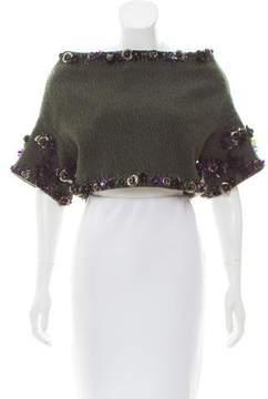 Aquilano Rimondi Aquilano.Rimondi Wool Embellished Top