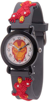Marvel Avengers Boys Gray Strap Watch-Wma000156