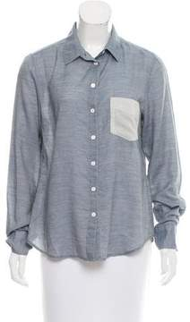 Boy By Band Of Outsiders Knit Button Up Top