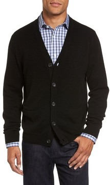 Nordstrom Men's Big & Tall Cashmere Button Front Cardigan