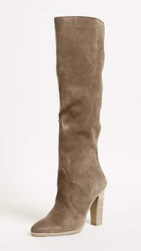 Dolce Vita Celine Knee High Stacked Heel Boots