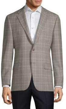Hickey Freeman Milburn II Wool Checkered Jacket