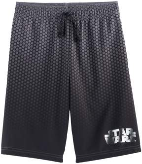 Star Wars Boys 4-7x a Collection for Kohl's Gradient Metallic Logo Mesh Shorts