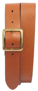 Bosca Men's The Bellow Americano Leather Belt