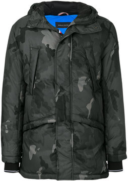 Rossignol camouflage print padded coat
