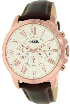 Fossil Grant FS4991 White Dial Watch