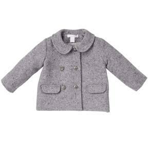 Marie Chantal Baby Girl Baby Girl Herringbone Coat