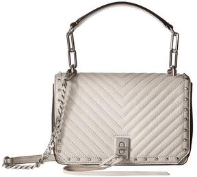 Rebecca Minkoff Small Becky Crossbody Cross Body Handbags - PUTTY - STYLE
