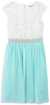 Speechless Girls 7-16 Fit & Flare Knee Length Dress