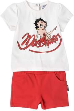 Moschino Betty Boop Print Jersey T-Shirt & Shorts