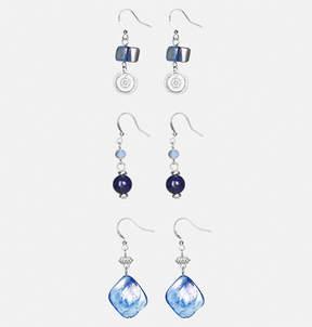 Avenue Blue Shell Earring Set
