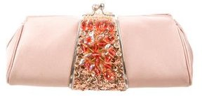 Judith Leiber Jeweled Satin Evening Bag
