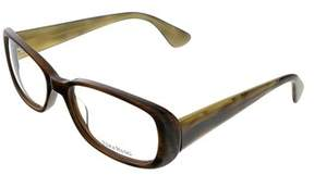 Vera Wang Ve 13 Hn 53 Horn Full Rim Womens Optical Frame.