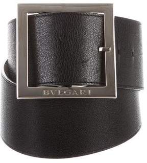 Bvlgari Leather Waist Belt