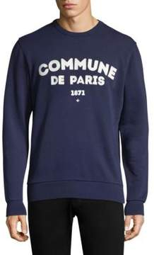 Commune De Paris Sweat Ici Crewneck Sweatshirt