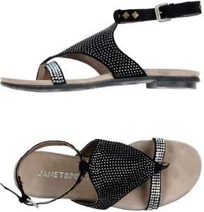 Janet Sport Toe strap sandals